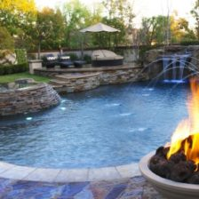 Firepits and swimming pools