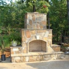 Customized Outdoor Fireplaces & Fire Pits