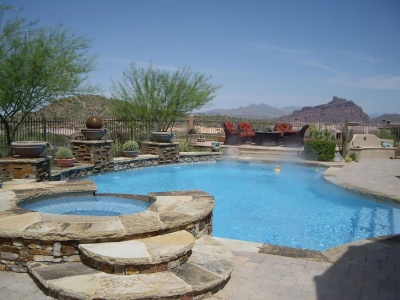 Swimming Pools In El Paso Custom Pools Dorian Construction Group