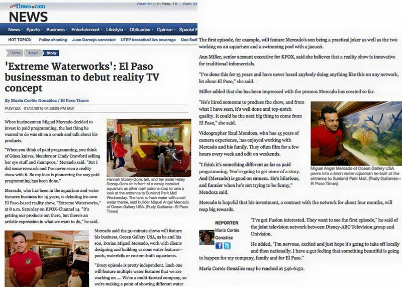 El Paso Times Article
